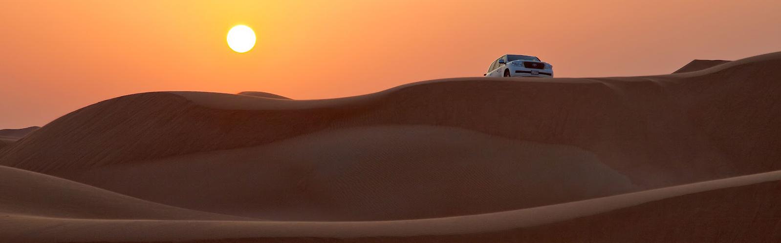 Dubai - výlety - desert safari